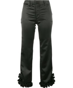 Jour/Né | Ruffled Hem Cropped Trousers 36