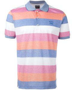 Paul & Shark | Striped Polo Shirt Size Large