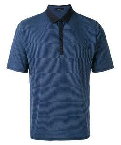 Roberto Collina | Striped Polo Shirt
