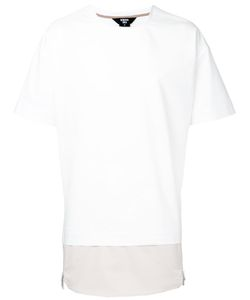 General Idea | Layered Hem T-Shirt Size