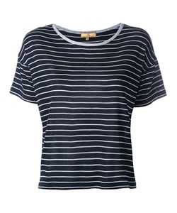 Fay | Striped Knitted T-Shirt Size Large