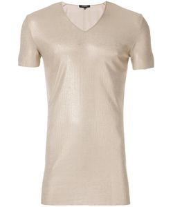 Unconditional | Ribbed V-Neck T-Shirt Men