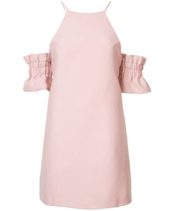C/Meo | Ruffled Sleeves Fitted Cocktail Dress
