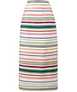 Rosie Assoulin | Ribbon Rainbow Stripe Skirt