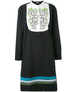 Tomas Maier | Embroidered Bib Dress