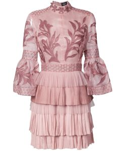J. Mendel | Embroidered Mini Dress