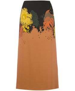 Dries Van Noten | Abstract Print Skirt Size 40