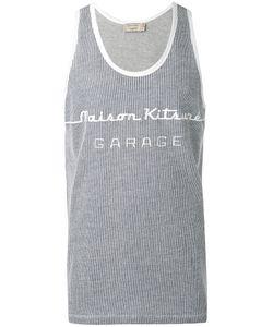 Maison Kitsuné | Knitted Logo Vest Size Xxl
