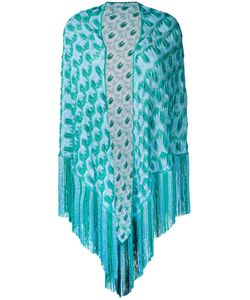 Missoni | Patterned Tassel Cape One