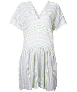 Lemlem | Flared Trim Striped Dress Large