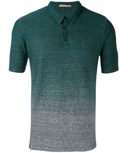 Nuur | Gradient Effect Polo Shirt Men