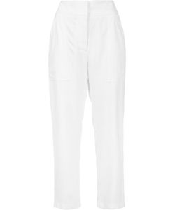 Adam Lippes | Cropped Patch Pocket Trousers