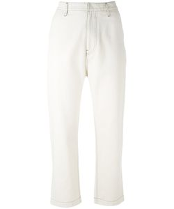 Golden Goose Deluxe Brand | Cropped High Waist Trousers