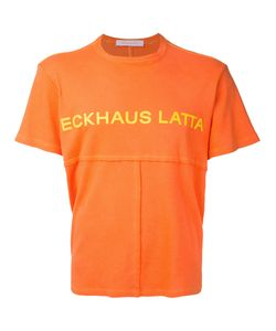 Eckhaus Latta | Printed Patchwork T-Shirt Men