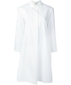 Veronique Leroy | Cropped Sleeve Shirt Dress Size 36