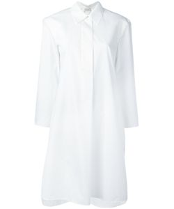 Veronique Leroy | Cropped Sleeve Shirt Dress Women