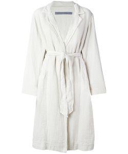 Raquel Allegra   Trench Robe 2 Cotton