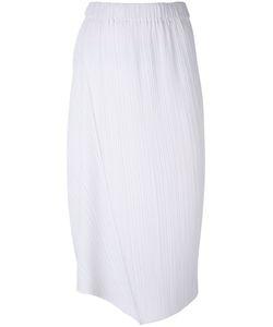 Jil Sander   Asymmetric Pleated Skirt