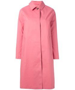 Mackintosh | Button Up Hooded Coat Size