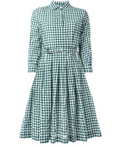 Aspesi | Checked Shirt Dress Size 44