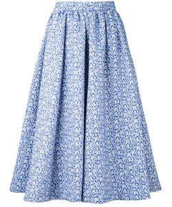 Le Ciel Bleu | Jacquard Midi Skirt Size