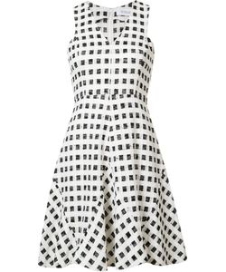 Derek Lam 10 Crosby | Checked Flared Dress Size 2
