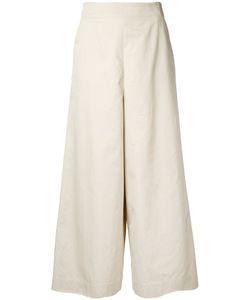 Astraet | Wide-Leg Cropped Trousers 1