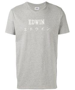 Edwin | Logo Print T-Shirt Size Xl