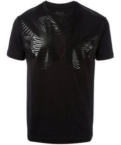 Les Hommes | Geometric Print T-Shirt Size Large