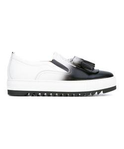 Salvatore Ferragamo | Slip On Sneaker With Tassels