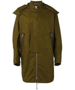 Oamc | Straps Detail Hooded Coat Size Large