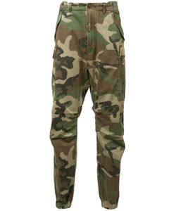 R13 | Camouflage Cropped Trousers 29