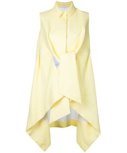Delpozo | Cut-Out Detail Sleevess Shirt