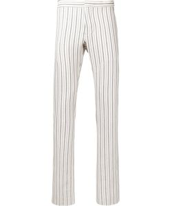 Andrea Pompilio | Striped Skinny Trousers Men