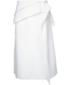 Dion Lee | Axis Zip Skirt 12 Cotton/Polyamide