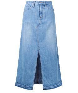 Muveil | Front Slit A-Line Skirt 40