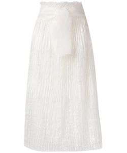 Ermanno Scervino | High-Waisted Lace Skirt Women