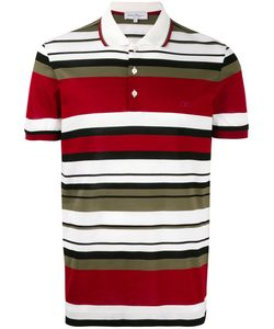 Salvatore Ferragamo | Horizontal Striped Polo Shirt