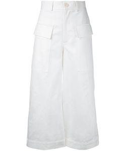 Studio Nicholson | Wide Leg Cropped Pants Size 0
