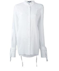 Ann Demeulemeester | Lace-Up Sleeves Shirt