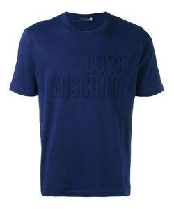 Love Moschino | Embossed Logo T-Shirt