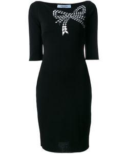 Blumarine   Sequin Bow Dress Size 46