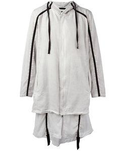 Thom Krom | Hooded Ayer Coat Large