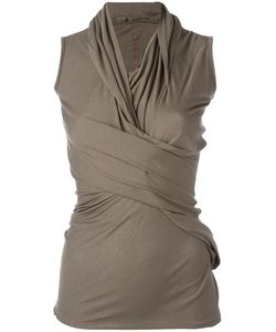 Rick Owens Lilies | Draped Fitted Top Size 40