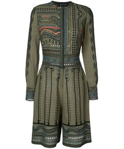Yigal Azrouel | Tribal Embroidered Romper