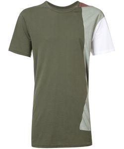 11 By Boris Bidjan Saberi | Patch Panelled T-Shirt