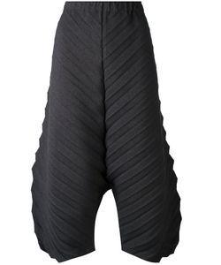 Issey Miyake Cauliflower   Textured Cropped Trousers