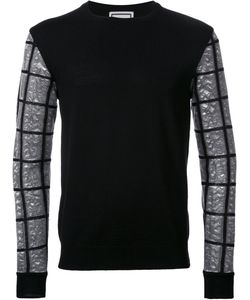 Wooyoungmi | Checked Sleeve Jumper 50
