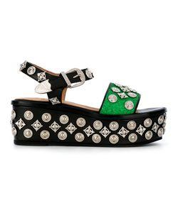 Toga Pulla   Embellished Sandals Size 40