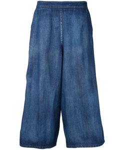 Demoo Parkchoonmoo | Wide Leg Cropped Jeans 38 Cotton